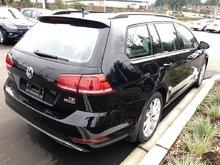 2018 Volkswagen GOLF SPORTWAGEN Comfortline 4Motion 6spd w/ Driver Assist Pkg+