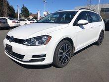 2017 Volkswagen Golf wagon Comfortline 4Motion Auto w/ Convenience Pkg.