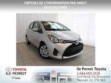 Toyota Yaris LE, A/C, GR ÉLEC, CRUISE, BLUETOOTH 2016