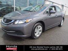 2014 Honda Civic LX MANUAL BAS KM