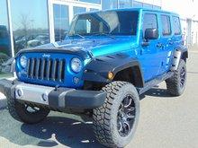 2014 Jeep Wrangler Unlimited Sahara AUT CUIR 2 TOITS