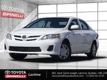 Toyota Corolla CE TOIT CRUISE BLUETOOTH 2013