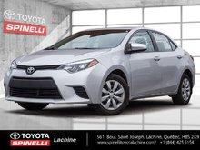 2014 Toyota Corolla LE AIR CAMÉRA CRUISE ET ++