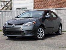 2015 Toyota Corolla LE CAMÉRA BLUETOOTH ET ++