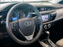 2015 Toyota Corolla LE AIR CONDITIONED! HEATED SEATS! BLUETOOTH! BACK UP CAMERA! ONE OWNER! HURRY!