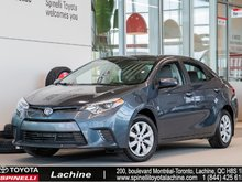2016 Toyota Corolla LE AIR CONDITIONED! HEATED SEATS! BLUETOOTH! BACK UP CAMERA! SUPER PRICE! HURRY!