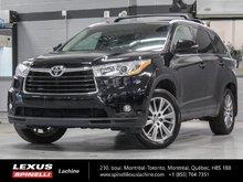2015 Toyota Highlander XLE AWD; CUIR TOIT GPS 8 PASS