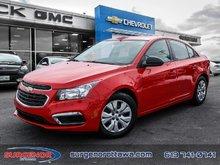2016 Chevrolet Cruze Limited 1LS  - Certified - $98.49 B/W