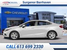 Chevrolet Cruze LT  - $144.15 B/W 2018