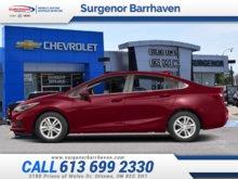 Chevrolet Cruze LT  - $163.06 B/W 2018