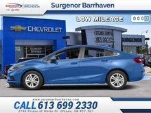 2018 Chevrolet Cruze LT  - Certified - $129.75 B/W