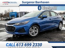 Chevrolet Cruze LT  - Heated Seats -  Bluetooth - $148.22 B/W 2019