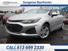 Chevrolet Cruze LT  - Heated Seats -  Bluetooth - $135.24 B/W 2019