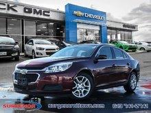 Chevrolet Malibu 1LT  - Bluetooth -  SiriusXM - $91.41 B/W 2015