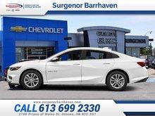 Chevrolet Malibu LT  - Bluetooth -  SiriusXM - $139.10 B/W 2018