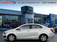 2012 Chevrolet Sonic LT Sedan  - $69.71 B/W