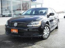 2015 Volkswagen Jetta Trendline plus 1.8T 6sp w/ Tip