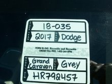 2017 Dodge Grand Caravan Crew Contact for more info