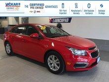 2016 Chevrolet Cruze Limited LT w/1LT  - $113.67 B/W
