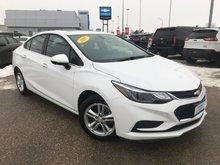 2017 Chevrolet Cruze LT  - Bluetooth -  SiriusXM - $124.23 B/W