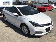 2017 Chevrolet Cruze LT  - Bluetooth -  SiriusXM - $180.99 B/W