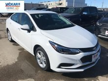 2018 Chevrolet Cruze LT  - Bluetooth -  Heated Seats - $170.42 B/W