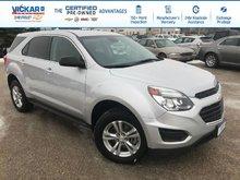 2016 Chevrolet Equinox LS  - Bluetooth -  Keyless Entry - $163.11 B/W