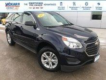 2017 Chevrolet Equinox LS  - Bluetooth -  OnStar - $179.18 B/W
