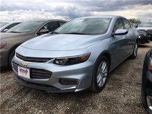 2017 Chevrolet Malibu 1LT  - Bluetooth -  SiriusXM - $185.30 B/W