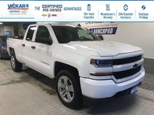 2017 Chevrolet Silverado 1500 Custom 4X4, DOUBLE CAB, 4X4, 5.3L V8  - $219.40 B/W