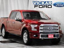 2015 Ford F150 4x4 - Supercrew Platinum - 145