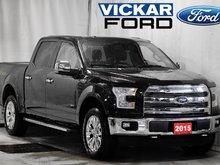 2015 Ford F150 4x4 - Supercrew Lariat - 145