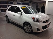 2015 Nissan Micra SV/1 OWNER LOCAL TRADE!!