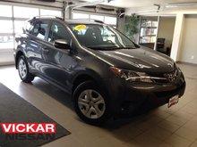 2015 Toyota RAV4 LE / 1 OWNER LOCAL TRADE