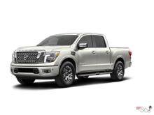 2017 Nissan Titan Crew Cab XD Platinum 4x4 Two-Tone Diesel