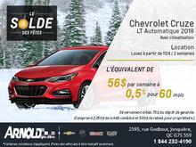La Chevrolet Cruze 2018