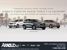 Nouvelle année, Nouveau Volant chez Buick!