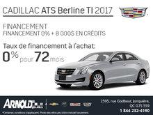 Financez le Cadillac ATS 2017