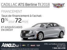 Financez le Cadillac ATS 2018