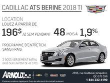 Louez le Cadillac ATS 2018