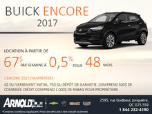 Buick Encore 2017 en location!