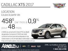 Cadillac XT5 2017 en rabais!