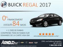 Buick Regal 2017 à 0%
