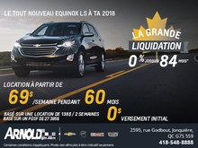 EQUINOX 2018, 69$/ SEMAINE