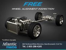 FREE wheel alignment inspection