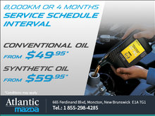Oil Change From $49.95