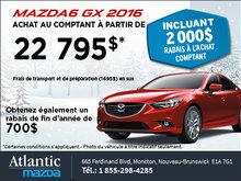 Le tout nouveau Mazda6 GX 2016