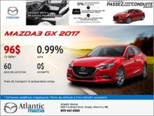 Nouvelle Mazda3 GX 2017