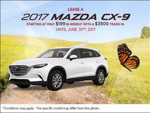 Lease the 2017 Mazda CX-9!