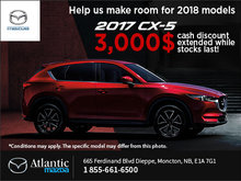 Save on the 2017 CX-5